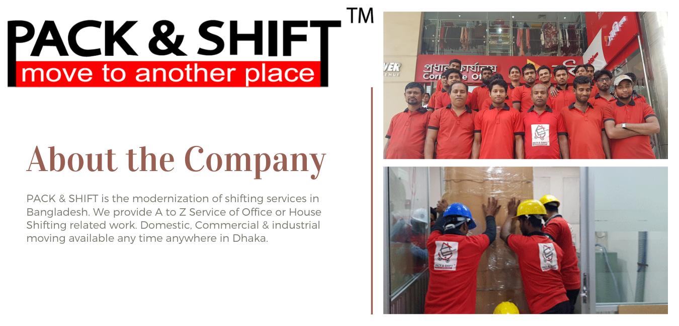Packnshift Dhaka